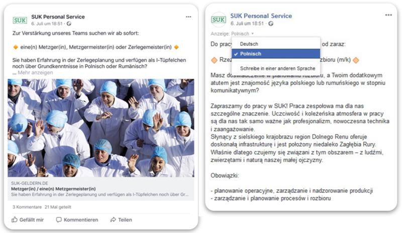 Wirkungsvoller Content auf Facebook